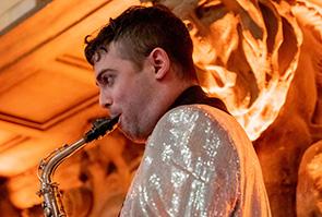 Cody Reisteck - Alto Sax & Bari Sax